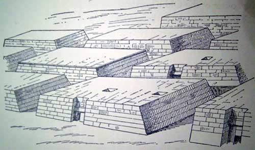 قبرستان مصطبه ای در مصر باستان