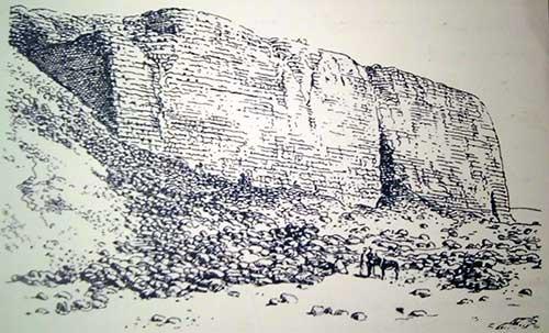 مصطبه خشت آجری در معماری مصر باستان