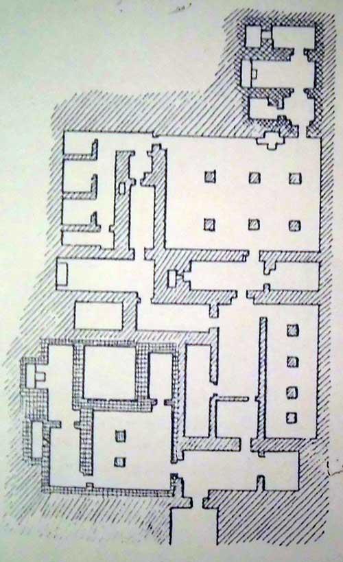 فرم پلان مصطبه در مصر باستان